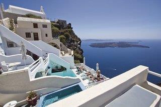 Spiliotica on the Cliff - Santorin