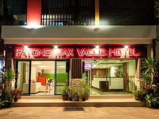 Patong Max Value Hotel 3*, Patong Beach (Patong - Insel Phuket) ,Thajsko