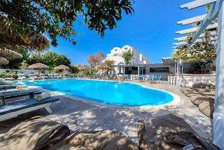 Alia Hotel 3*, Kamari (Insel Santorin) ,Grécko