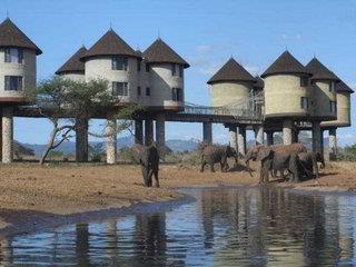 Sarova Salt Lick Game Lodge 4*, Tsavo-West National Park (County Taita/Taveta) ,Keňa
