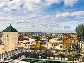 Riad Zidania in Meknes, Marokko