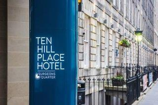 Ten Hill Place Hotel, Best Western Premier Collection 4*, Edinburgh ,Spojené kráľovstvo